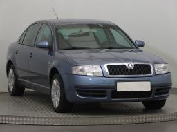 Škoda Superb 2004 Sedan Modrá 9