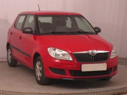 Škoda Fabia 2013 Hatchback červená 10