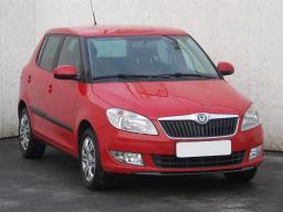 Škoda Fabia 2011 Hatchback červená 8