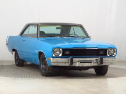 Plymouth Valiant Scamp 1973 Coupe modrá 1