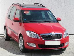 Škoda Roomster 2012 Rodinné vozy červená 2
