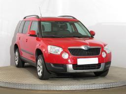 Škoda Yeti 2010 SUV červená 8