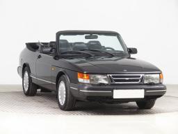 Saab 900 1990 Cabrio černá 1